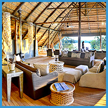 Vic Falls River Lodge lounge